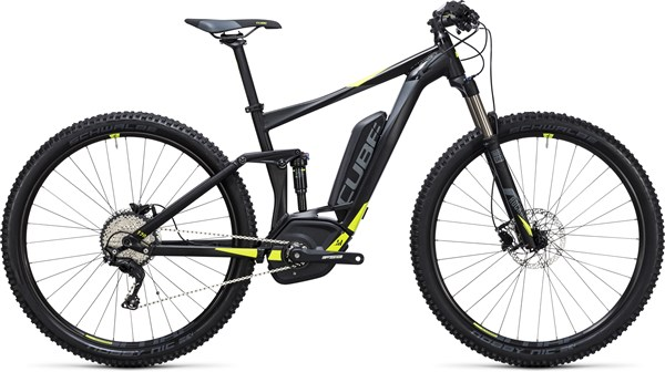 Cube Stereo Hybrid 120 HPA Pro 500 29er 2017 - Electric Mountain Bike