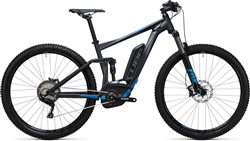 Cube Stereo Hybrid 120 HPA Race 500 29er 2017 - Electric Mountain Bike