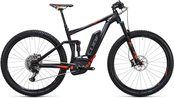 Image of Cube Stereo Hybrid 120 HPA SL 500 29er 2017 - Electric Bike