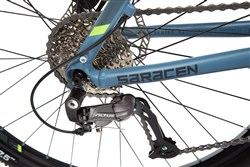 "Saracen Tufftrax Comp Hydro Disc 27.5"" Mountain Bike 2017 - Hardtail MTB"