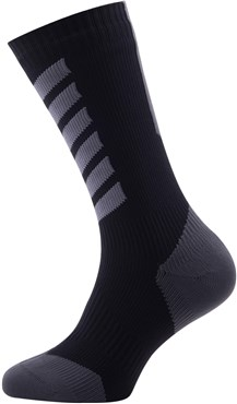 Sealskinz MTB Cycling Mid Mid Socks with Hydrostop AW17