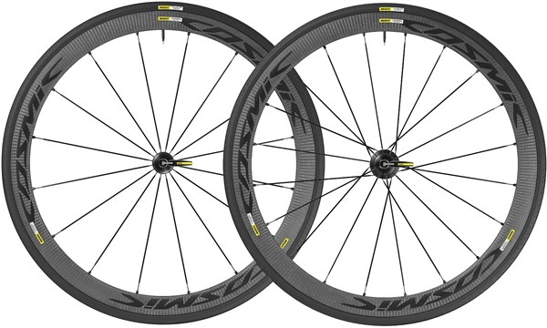 Image of Mavic Cosmic Carbone 40 Elite Clincher Road Wheels 2017
