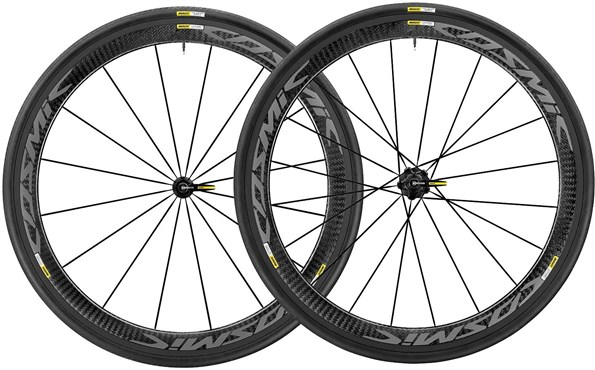 Buy Mavic Cosmic Pro Carbon Exalith Road Wheels 2018 At Tredz