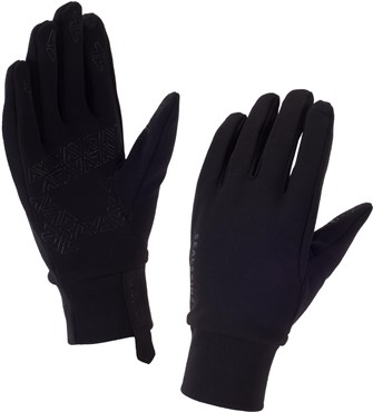 Image of Sealskinz Stretch Fleece Nano Long Finger Gloves AW16