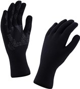 Product image for Sealskinz Ultra Grip Running Long Finger Gloves AW17