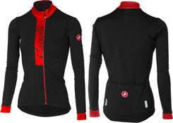Product image for Castelli Sorriso Womens Long Sleeve FZ Jersey AW17