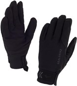 Product image for Sealskinz Womens Dragon Eye Long Finger Gloves AW17