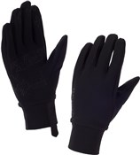 Product image for Sealskinz Womens Stretch Fleece Nano Long Finger Gloves AW17