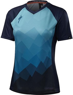 Image of Specialized Womens Andorra Comp Short Sleeve Jersey AW16