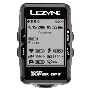 Image of Lezyne Super Navigate GPS Computer With Mapping