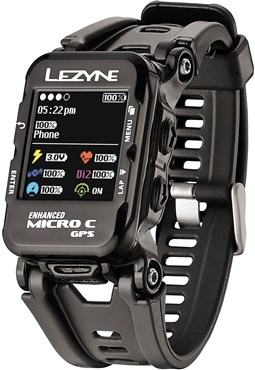 Lezyne Micro Colour GPS Watch Inc Heart Rate Monitor