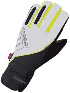 Image of Chiba Reflex Pro Waterproof Long Finger Cycling Gloves AW16