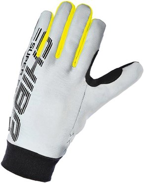 Chiba Pro Safety Reflector Long Finger Cycling Gloves AW16