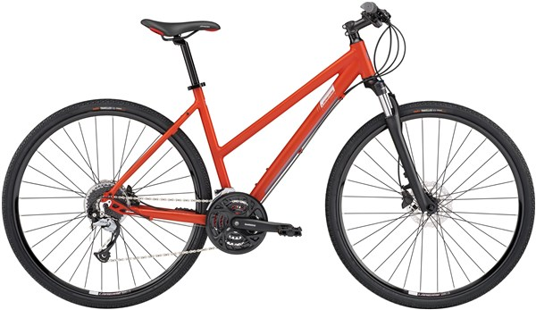 Image of Lapierre Cross 300 Disc Womens  2017 - Hybrid Sports Bike