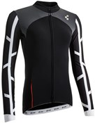 Product image for Cube Blackline WLS Womens Long Sleeve Cycling Jersey