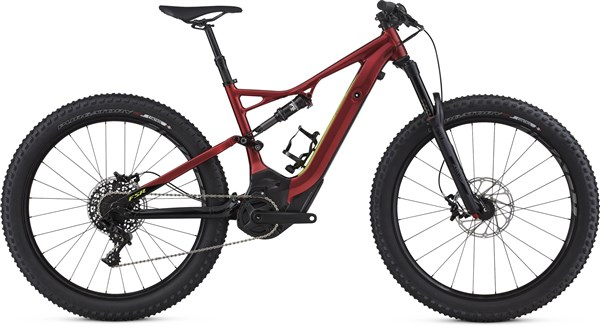 Image of Specialized Turbo Levo FSR Comp 6Fattie CE 2017 - Electric Bike