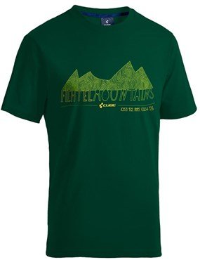Cube Green Fichtelmountains Junior T-Shirt