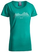 Cube After Race Series Green Fichtelmountains WLS Womens T-Shirt