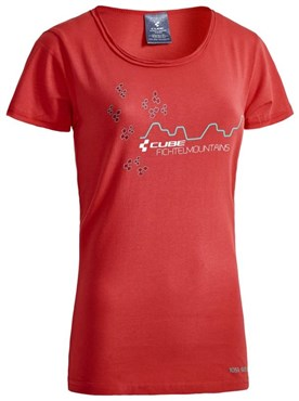 Cube After Race Series Fichtelmountains WLS Womens T-Shirt