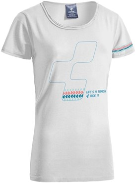 Cube After Race Series Icon WLS Womens T-Shirt