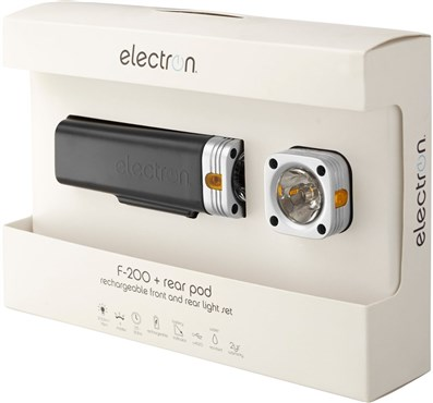 Image of Electron F200 Rechargeable Light Set