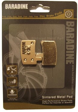 Baradine Hayes Stroker Trial Sintered Disc Brake Pads