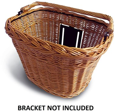 Basil BaSimply Wicker Front Basket (Bracket NOT Included)