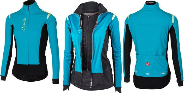 Castelli Alpha Ros Womens Windproof Cycling Jacket AW17