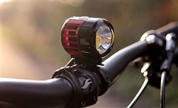 Cateye 6000 Handlebar Mount from Side