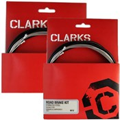 Clarks Clarks Stainless Steel Gear and Brake Cable Kit