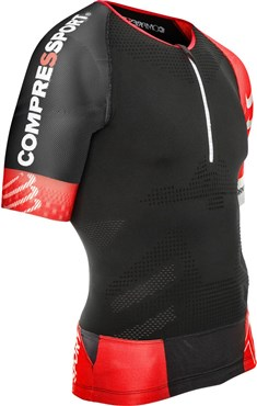 Compressport Pro Racing Triathlon TR3 Aero Short Sleeve Jersey SS17