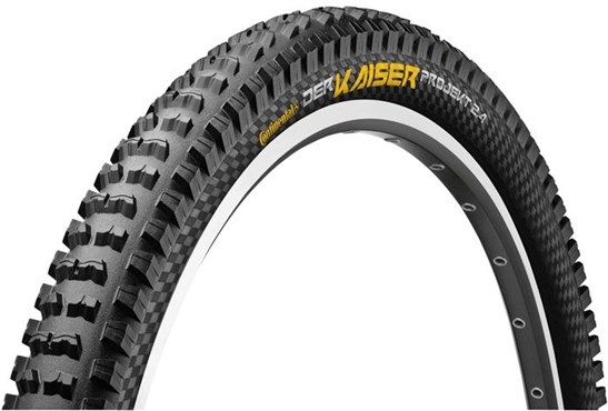 Continental Der Kaiser Projekt ProTection Apex Black Chili MTB Tyre