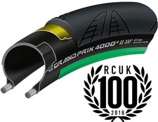 Continental Grand Prix 4000 S II Black Chili Folding Road Tyre