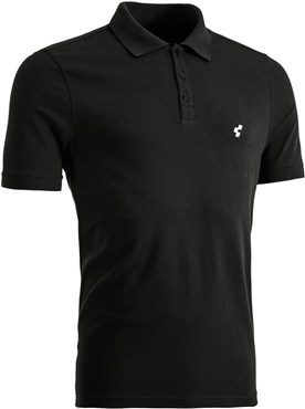 Cube After Race Series Cube Logo Print Polo Shirt