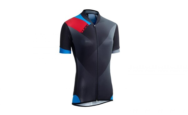 Cube Black Zero WLS Womens Short Sleeve Cycling Jersey