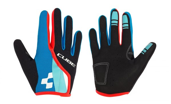 Cube Junior Race Eazy Long Finger Cycling Gloves