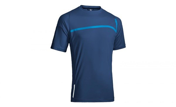 Cube Motion Round Neck Short Sleeve Cycling Jersey