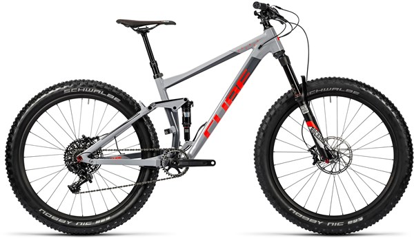 Cube Stereo 150 HPA Race 27.5+ Mountain Bike 2016 - Full Suspension MTB