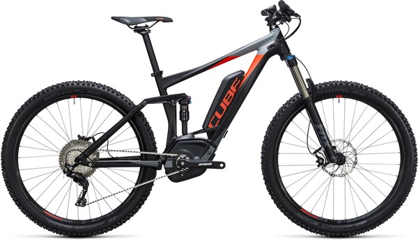 "Cube Stereo Hybrid 140 HPA Pro 500 27.5""  2017 - Electric Bike"