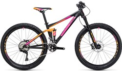 "Cube Sting WLS 120 Pro 2X 27.5"" Womens  Mountain Bike 2017 - Full Suspension MTB"
