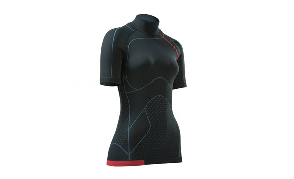 Cube Undershirt Functional Blackline Cold Conditions WLS Womens Short Sleeve Cycling Base Layer