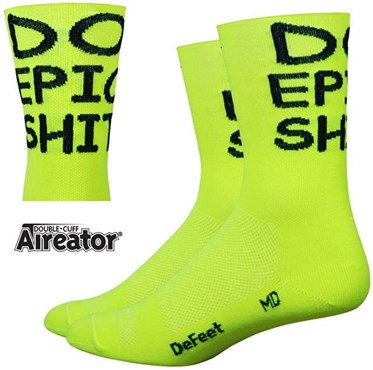 "Defeet Aireator 5 ""Do Epic Sh!"" Socks"
