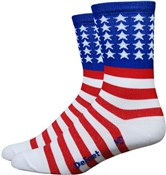 "Defeet Aireator 5"" USA Socks"