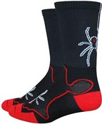 "Defeet Levitator Trail 6"" Widowmaker Socks"