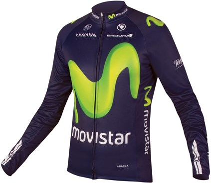 Endura Movistar Team Long Sleeve Cycling Jersey AW16