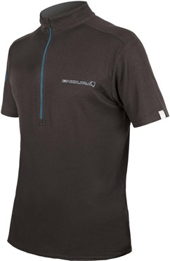 Endura SingleTrack Merino Short Sleeve Cycling Jersey AW16