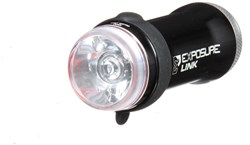 Exposure Link Front and Rear Light Set With Helmet Mount