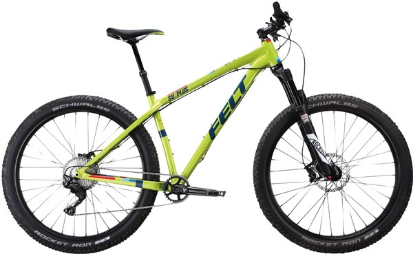 Felt Surplus 10 Mountain Bike 2017 - Hardtail MTB