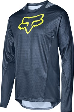 Fox Clothing Demo Long Sleeve Camo Burn Jersey