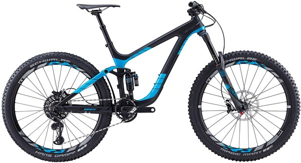 "Giant Reign Advanced 0 27.5"" Mountain Bike 2017 - Enduro Full Suspension MTB"